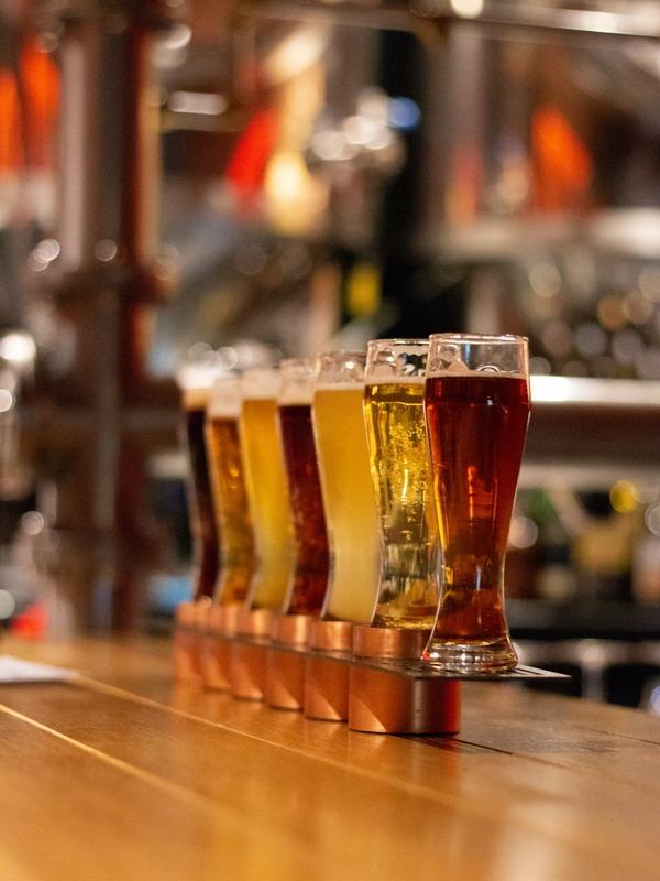 Дегустация литовского пива