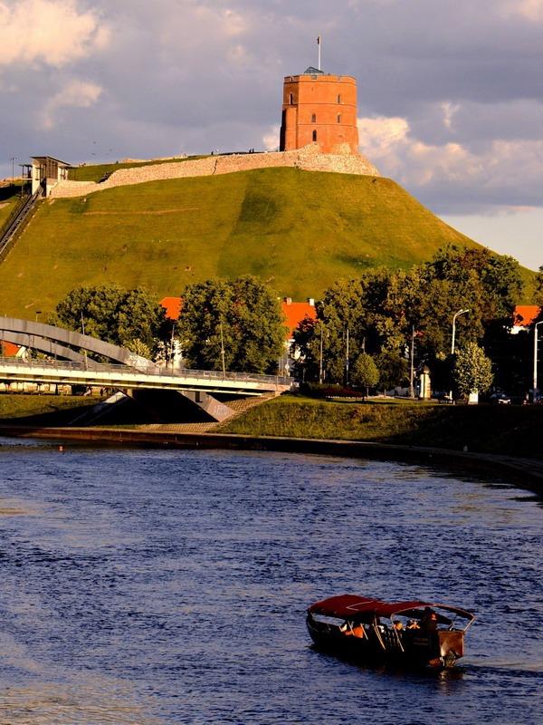 Аренда гондолы в Вильнюсе
