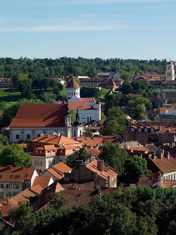 Панорамы Вильнюса