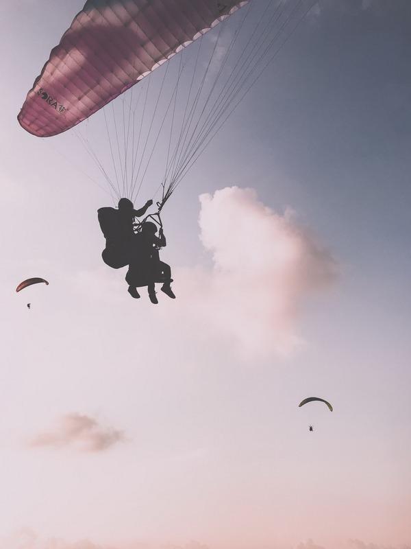Полёты на параплане